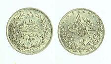 pcc1814_6) Egitto Egypt 1 Qirsh AH1293/22  Silver