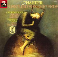 KLETZKI DICKIE FISCHER-DIESKAU MAHLER Das Lied von der Erde EMI C037-1477 LP NM