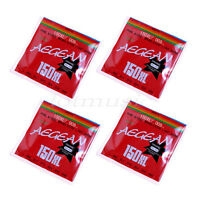 4 Sets 6 Steel Strings for Electric Guitar 150XL/.229mm Gauge