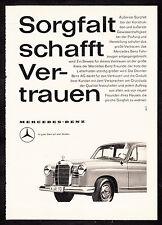 3w2100/ Alte Reklame von 1960 - MERCEDES BENZ