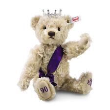 STEIFF Ltd Edition (No3) QUEEN ELIZABETH 90th Birthday Bear EAN 690020 28cm +box