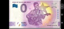 PREVENTE:  ZERO EURO NEW 2021 Tir:3000  KING OF ROCK AND ROLL   Elvis PRESLEY