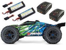 Traxxas E-Revo VXL Brushless TQi 2018 + 2x2S LiPo & 2 Ladegeräte - 86086-4SET4