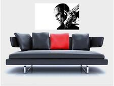 "TRANSPORTER BORDERLESS MOSAIC TILE WALL POSTER 35"" x 25"" JASON STATHAM"