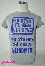 T-SHIRT Frase Spiritosa maglia maglietta divertente simpatica IDEA REGALO  guida