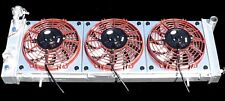 JEEP CHEROKEE XJ ALUMINUM RADIATOR & FFD EXTREME TRIPLE THREAT COOLING FAN KIT !