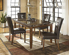 Ashley furniture kitchen dining tables ebay signature design by ashley furniture lacey rectangular dining table in medium brown workwithnaturefo
