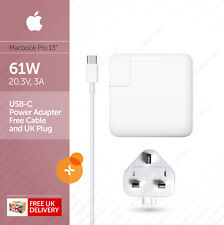 """Apple 61W USB-C Power Adapter (Charger) and Cable for Macbook Pro 13"""" :: A1718"""