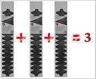 Pack de 3 Pala Raqueta Padel Carbono XL 100% No+Crash® nomascrash