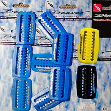 SCUBA weight belt keepers diving gear clip blue black yellow snorkel retainers