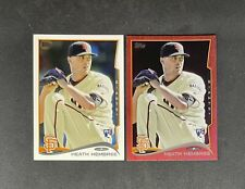 Heath Hembree 2014 Topps Red Foil & Base RC #249 Rookie LOT Giants Reds