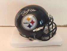 Le'Veon Bell Signed NFL Pittsburgh Steelers Speed Mini Helmet COA Hologram