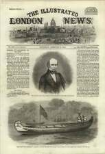 1861 Hudson's Bay Company Presents Birch Bark Canoe To Prince Of Wales