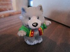Fisher Price Little People Avon exclusive Red Riding hood Big Bad Wolf dog k 9
