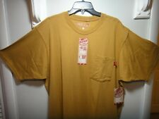 Red Kap Mens Work SS Shirt Utility Chest Pocket Color Brown Size X-Large