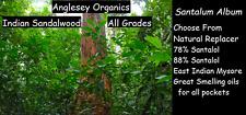 Indian Sandalwood Essential Oil, Santalum Album, All Grades to suit every pocket