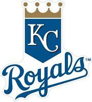 Kansas City Royals MLB Color Die Cut Vinyl Decal Sticker - You Choose Size