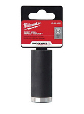 Milwaukee 3/8 in. Drive 3/4 in. Deep Impact Socket  Model # 49-66-4430