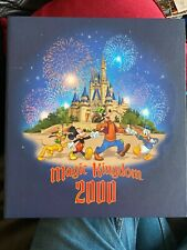 Walt Disney photograph album Year 2000 Magic Kingdom