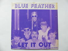 """MAXI 12"""" BLUE FEATHER Let it out FT 2004"""