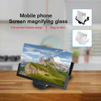 14'' For Apple Folding Mobile Phone Screen Magnifier HD Screen Amplifier Stand