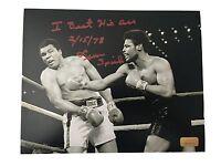 Leon Spinks Signed 8x10 Inscribed COA Inscriptagraphs Michael 8x Muhammad Ali
