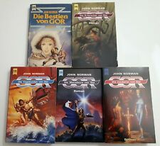 Gor - John Norman, 5 Fantasy Romane