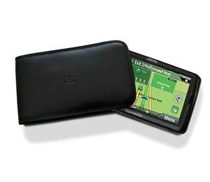 "NEW GENUINE Magellan GPS 5"" Leather Slip Case Maestro 4250 5310 RoadMate 1424-LM"