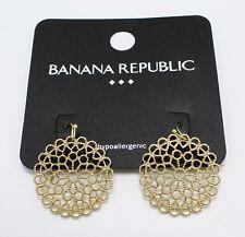 Beautiful New Filigree Earrings from Banana Republic NWT #BRE10