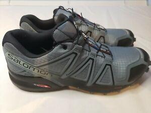 Salomon Speed Cross 4 Trail Running Shoes Blue/Grape Juice Size 9.5
