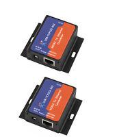 2 Pcs USR-TCP232-302 Tiny Size Serial RS232 to Ethernet TCP IP Server Module