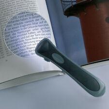Loupe de lecture sans contour, lumineuse LED.
