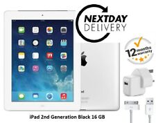Apple iPad 2 16GB, Wi-Fi, 9.7in - White - Grade A iPad - EXCELLENT CONDITION UK
