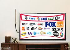 360 Multi-Directional High Mile Range Indoor/Outdoor Digital HDTV Antenna 1080p