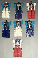 Vtg ROBOTECH ROBOLINKS Takara BLOCKMAN ROBOT FIGURE Lot 1984 Transformers