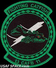 USAF SPECIALIZED PILOT TRAINING-CLASS 2013-11- FIGHTING CATFISH -ORIGINAL PATCH