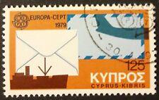 Europa CEPT Ausgabe 1979 Zypern Einzelmarke Mi-Nr. 503 gestempelt