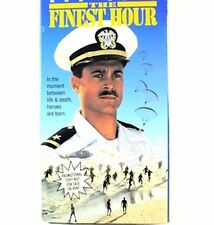 The Finest Hour VHS Movie Promo Screener Copy