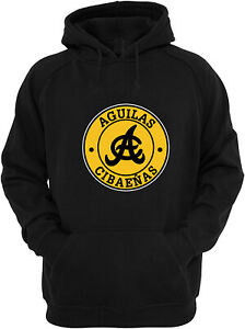 Aguilas Cibaeñas  Baseball Sweater Hoodie for Men Color Black-Grey-Blue