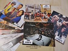 L' HOMME AU MASQUE D' OR ! jean reno  jeu 12 photos cinema lobby cards catch