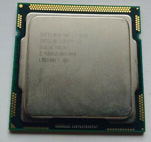 Intel Core i7-870 2.93GHz Quad-Core (BV80605001905AI) Processor