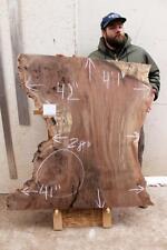 Live Edge Coffee Table Top Walnut Natural Wood Slab Kitchen Tabletop DIY 6372x3