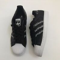 NEW Adidas Originals Superstar Graffiti Black White Leather BD7430 Mens Size 9.5