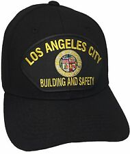 City Of Los Angeles Building And Safety Hat Color Black Adjustable
