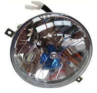 VESPA COMPLETE HEADLIGHT HIGH QUALITY HALOGEN AND SIDE LIGHT LED PX P LML T5 NEW