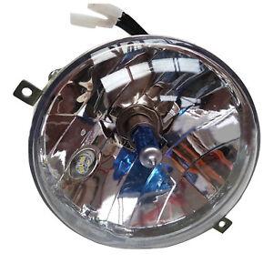 Vespa Complete Headlight High Quality Halogen & Side Light Led PX P LML T5