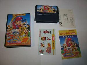 Famista '89 Family Stadium Famicom NES Japan import boxed stickers US Seller