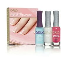 ORLY French Manicure Kit Rose - Base Coat/Top Coat + Nail Lacquers - NEW