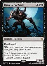 HARVESTER OF SOULS Archenemy: Nicol Bolas MTG Black Creature — Demon Rare