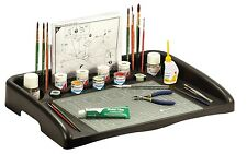 Humbrol Model Work Station -Holds Paints, Glues, Brushes & Instructions AG9156